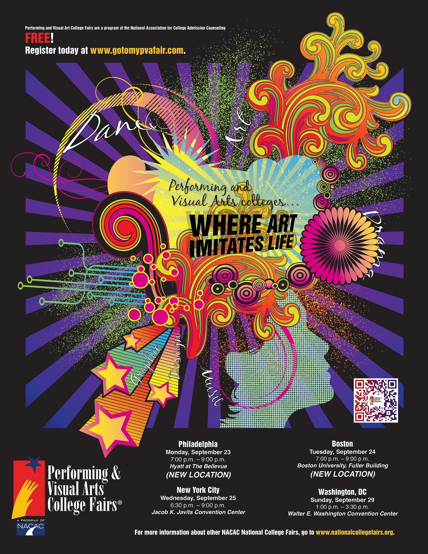NACAC Performing and Visual Arts College Fair, Sep. 25 ...